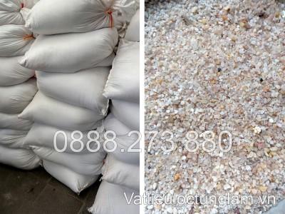 Cát thạch anh 0.8 - 1.2 mm